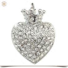 BIG Charms Herz mit Krone
