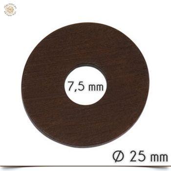 Zwischenscheiben aus holz f r wechselringe und wechselschmuck for Holzscheibe rund